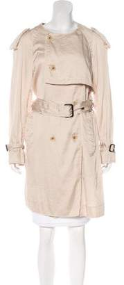 3.1 Phillip Lim Raw-Edge Trench Coat