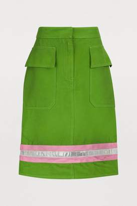 Calvin Klein Short cotton skirt