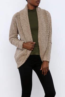 BB Dakota Shawl Cocoon Cardigan $115 thestylecure.com