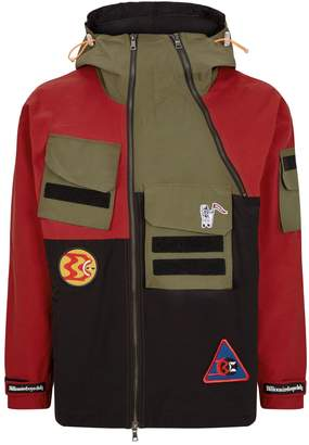 Billionaire Boys Club Colour-Block Expedition Jacket