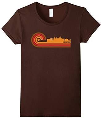 Retro Style Las Vegas Nevada Skyline T-Shirt
