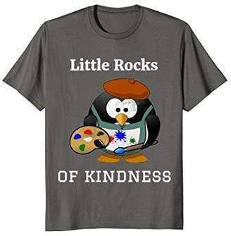 Original Penguin Little rocks of kindness T shirt Rock Painters women