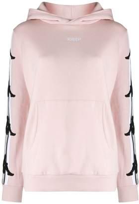 Kappa logo lined hoodie