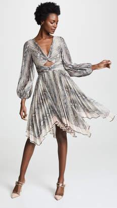 Zimmermann Corsage Pleat Mini Dress