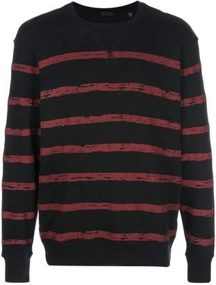 ATM Anthony Thomas Melillo striped sweatshirt