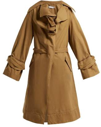 Palmer Harding Palmer//Harding Palmer//harding - Dusk Cotton Trench Coat - Womens - Brown