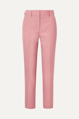 Burberry Twill Straight-leg Pants - Antique rose