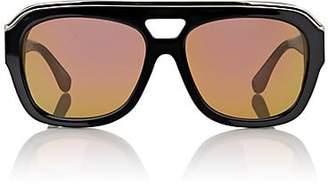 Dax Gabler Women's No04 Sunglasses - Shiny Black-Rosegold Lens