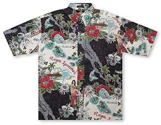 Reyn Spooner Men's Status Oceanic Spooner Kloth Classic Fit Hawaiian Shirt