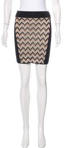 Rag & Bone Paneled Rib Knit Skirt w/ Tags
