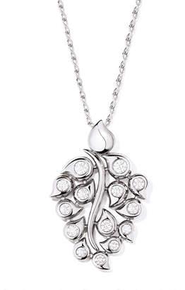Tamara Comolli Snowflakes 18k White Gold Diamond Pendant