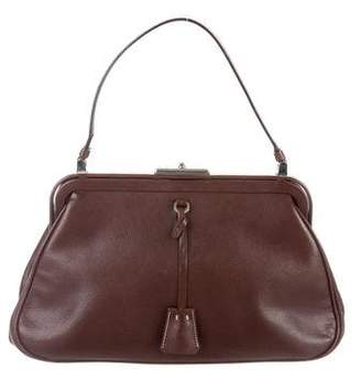Prada Leather Frame Bag