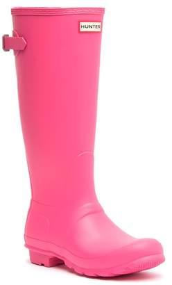 Hunter Tall Adjustable Back Waterproof Rain Boot (Women)