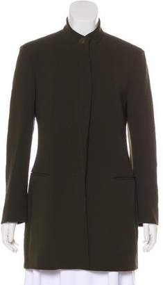 Donna Karan Structured Button-Up Jacket