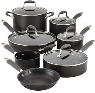 Anolon Advanced 12-Piece Hard-Anodized Cookware Set
