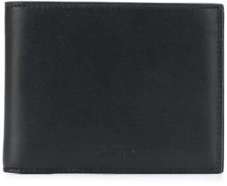Jil Sander logo embossed bi-fold wallet