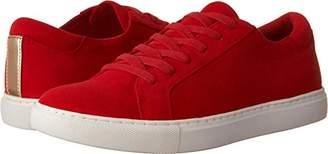 Kenneth Cole New York Women's Kam Low Profile Suede Fashion Sneaker