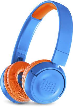 N. Jbl Blue & Orange JR300BT Kids Wireless On-Ear Headphones