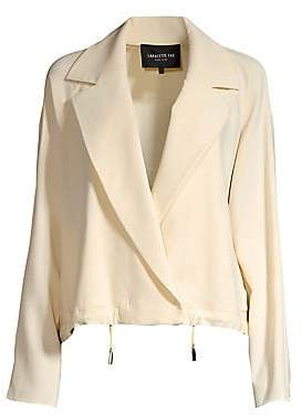 Lafayette 148 New York Women's Zaylee Crossover Front Topper