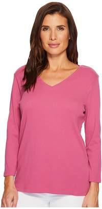 Pendleton 3/4 Sleeve Rib Tee Women's T Shirt