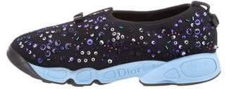 Christian Dior Fusion Slip-On Sneakers