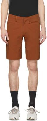 Arcteryx Veilance Orange Voronol Shorts