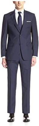 Franklin Tailored Men's Navy Pinstripe Suit