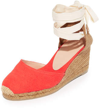 Castaner Washed Canvas Wedge Espadrilles $120 thestylecure.com