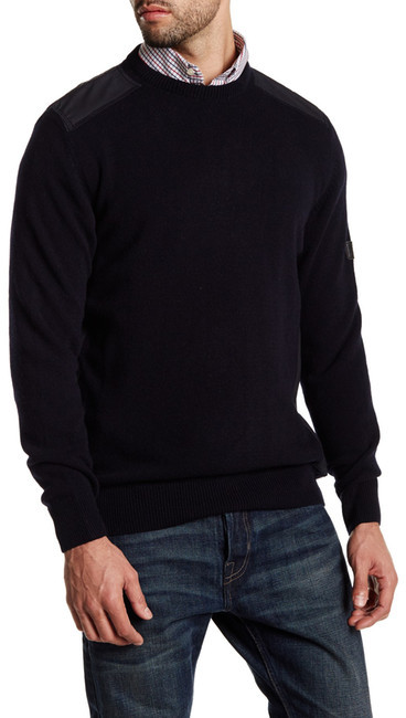 Barbour Crook Wool Pullover Sweater