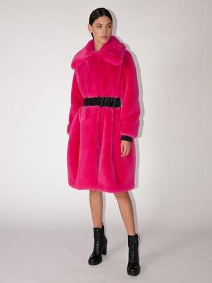 Karl Lagerfeld Paris FAUX FUR COAT