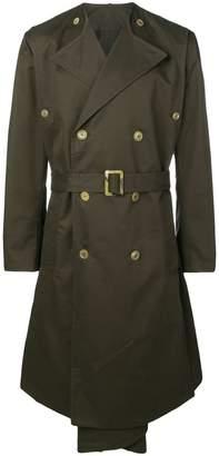 Hed Mayner midi trench coat