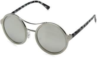 A. J. Morgan A.J. Morgan Women's Ostrich Round Sunglasses