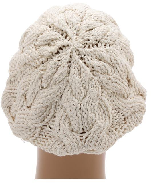 San Diego Hat Company REC1018 Recycled Yarn Beret