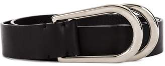 Maison Margiela D-ring leather belt