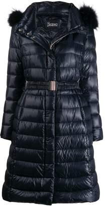 Herno ultralight belted coat
