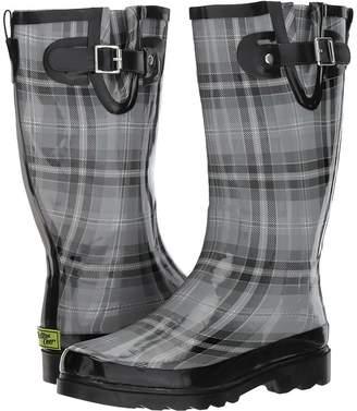 Western Chief Highland Plaid Women's Rain Boots