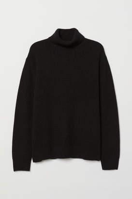 H&M Cashmere-blend Sweater - Black