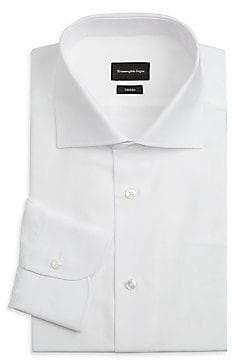 Ermenegildo Zegna Men's Cotton Dress Shirt