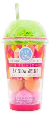 Fizz & Bubble Milkshake 12-Count Bath Fizzies in Rainbow Sherbet