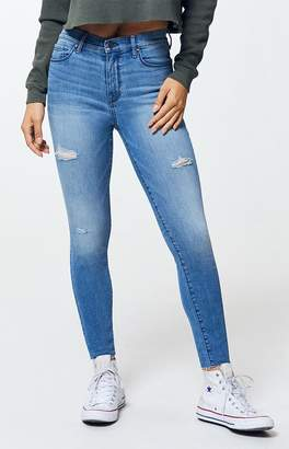 PacSun Allan Blue High Waisted Ankle Jeggings