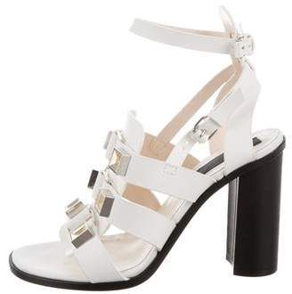 Proenza Schouler Studded Cage Sandals
