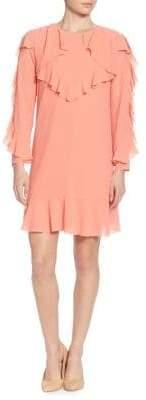 Catherine Malandrino Keely Ruffled Dress