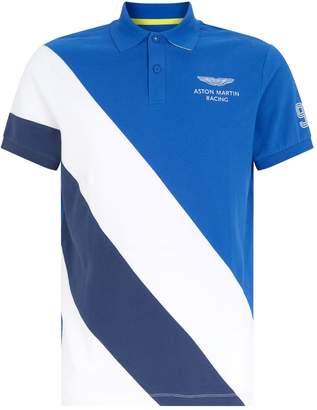Hackett Aston Martin Panel Polo Shirt