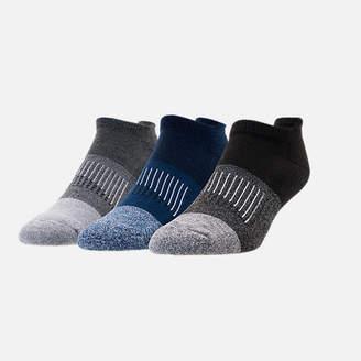 Sof Sole Men's Finish Line Marl Color Block 3-Pack No-Show Socks