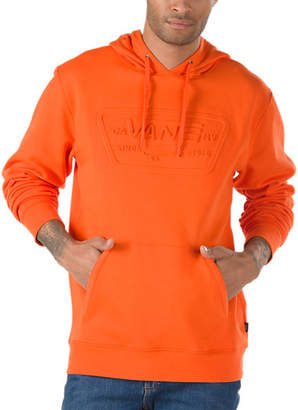 Embossed Full Patch Pullover Hoodie