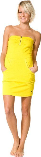 Hurley Ezra Strapless Dress