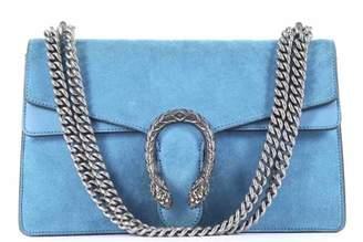 Gucci Dionysus Blue Suede Handbag