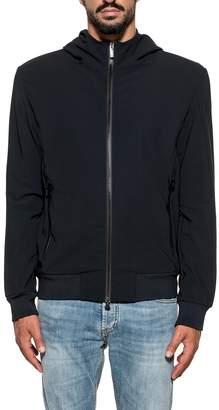 Rrd Roberto Ricci Design RRD - Roberto Ricci Design Jacket Winter Fleece Hood Dark Blue
