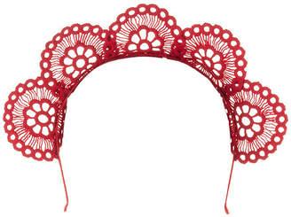Olga Berg Claire Lace Headband