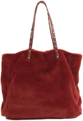 Sam Edelman Eleonora Faux Fur Shoulder Bag